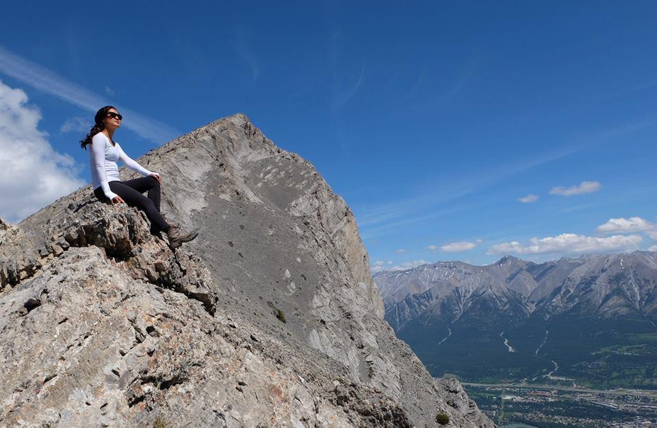 Summer Road Trip to Banff, Alberta - Hiking Ha Ling Peak, Canmore