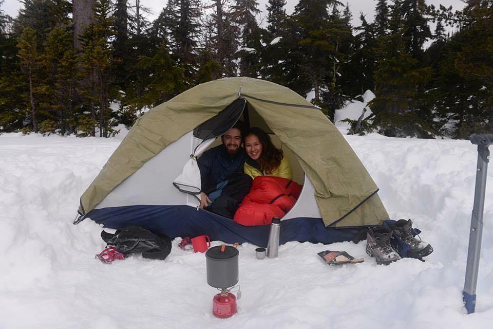 Snowshoe trails near Vancouver: Joffre Lake - Pemberton, British Columbia